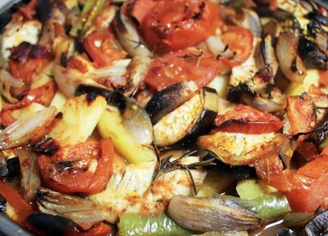 Chicken tepsi kebab