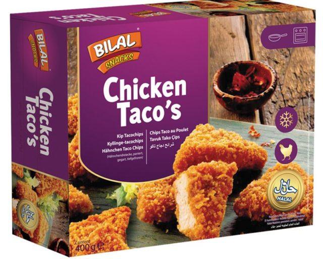 Bilal Snacks CHICKEN TACOS