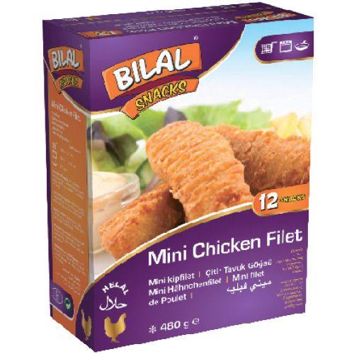 Bilal Snacks MINI CHICKEN FILLET