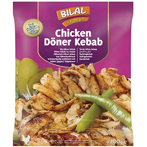 Chicken Doner Kebab 700g