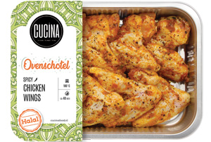 Cucina spicy wings